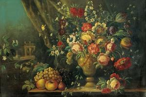 Still Life with Flowers and Fruits (Natura Morta Con Fiori E Frutti)