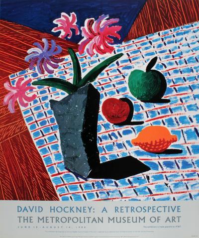 Still Life with Flowers-David Hockney-Limited Edition