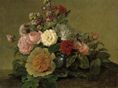Still-Life With Flowers-Georg Friedrich Kersting-Giclee Print