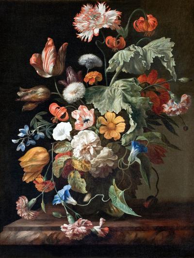 Still-Life with Flowers-Rachel Ruysch-Giclee Print