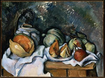 Still Life with Fruit and a Ginger Pot, C.1895-Paul C?zanne-Giclee Print