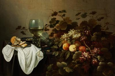 Still Life with Fruit and Roemer-Pieter Claesz-Giclee Print