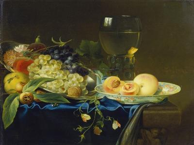 Still Life with Fruit and Rummer, 1758-Justus Juncker-Giclee Print