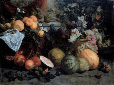 Still Life with Fruit and Vegetables, First Third of 17th C-Jan Roos-Giclee Print