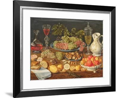 Still Life with Fruit--Framed Giclee Print