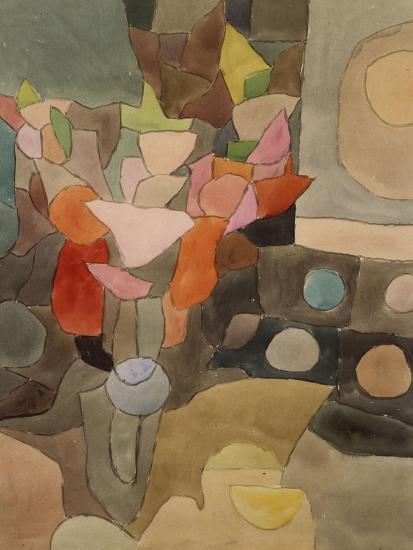 Still Life with Gladioli; Gladiolen Still Leben-Paul Klee-Premium Giclee Print