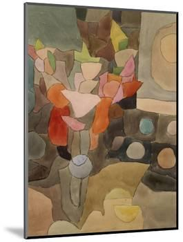 Still Life with Gladioli; Gladiolen Still Leben-Paul Klee-Mounted Premium Giclee Print