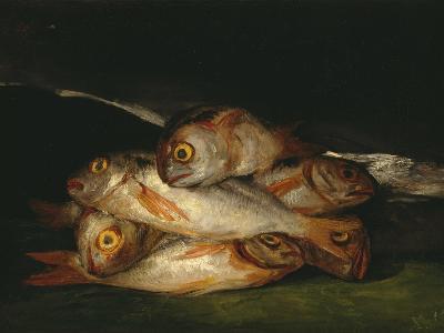 Still Life with Golden Bream, 1808-1812-Francisco de Goya-Giclee Print