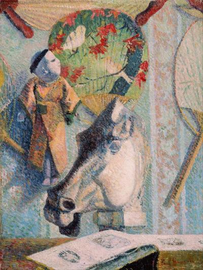 Still Life with Horse's Head-Paul Gauguin-Giclee Print