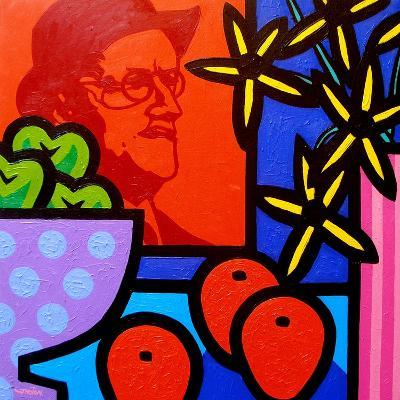 Still Life with James Joyce-John Nolan-Giclee Print