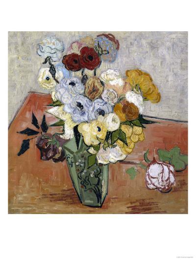 Still-Life with Japanese Vase, c.1890-Vincent van Gogh-Giclee Print