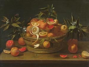 Still Life with Lemon, Orange and Pomegranate