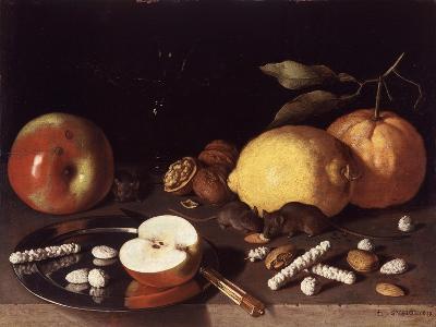 Still Life with Mice, 1619-Lodewik Susi-Giclee Print
