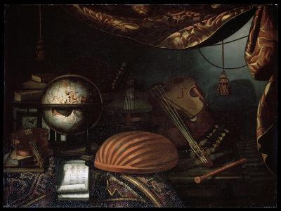 Still Life with Musical Instruments, 1715-Bonaventura Bettera-Giclee Print