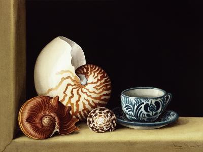 Still Life with Nautilus, 1998-Jenny Barron-Giclee Print