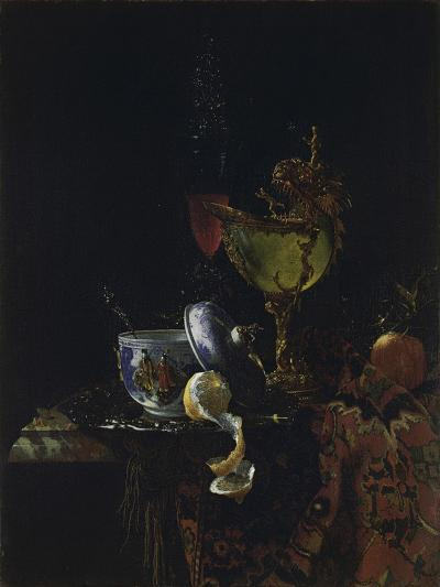 Still Life with Nautilus Cup-Willem Kalf-Giclee Print