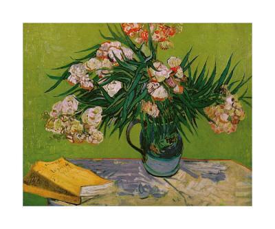 Still Life with Oleander-Vincent van Gogh-Giclee Print
