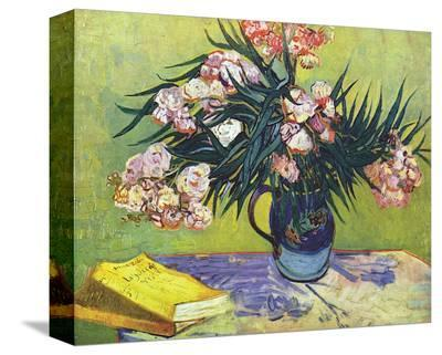 Still Life with Oleander-Vincent van Gogh-Stretched Canvas Print