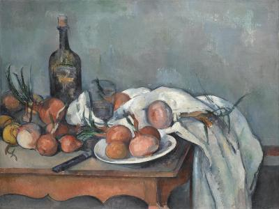 Still Life with Onions, 1896-1898-Paul C?zanne-Giclee Print