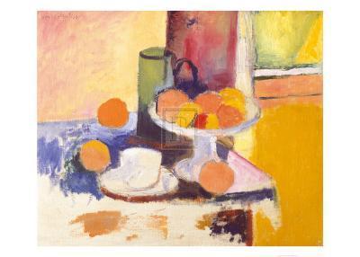 Still Life with Oranges-Henri Matisse-Art Print