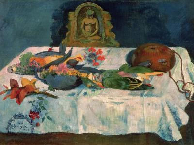 Still Life with Parrots, 1902-Paul Gauguin-Giclee Print