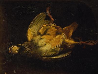 Still Life with Partridge-Alexandre-Francois Desportes-Giclee Print