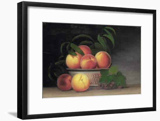 Still-Life with Peaches, C.1816-Raphaelle Peale-Framed Premium Giclee Print