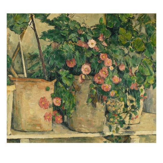 Still Life with Petunias, about 1885-Paul C?zanne-Giclee Print