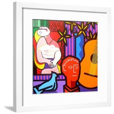 Still Life with Picassos Dream-John Nolan-Framed Giclee Print