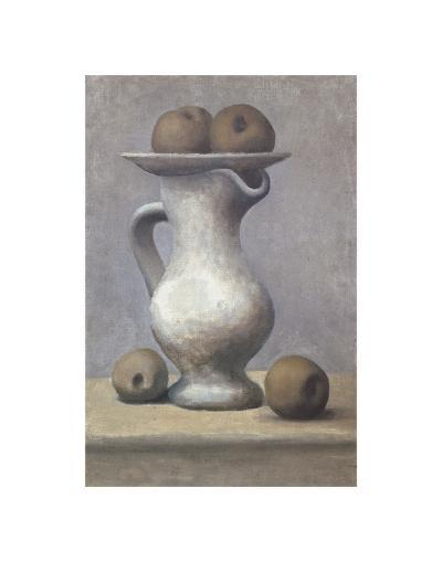 Still Life with Pitcher and Apple-Pablo Picasso-Art Print