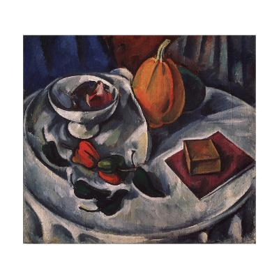 Still Life with Pumpkin, 1912-Alexander Vassilyevich Kuprin-Giclee Print