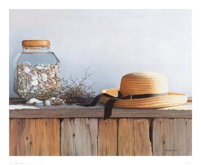 Still Life with Seashells-Daniel Pollera-Art Print