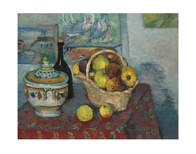 Still Life with Soup Toureen, c.1877-Paul C?zanne-Art Print