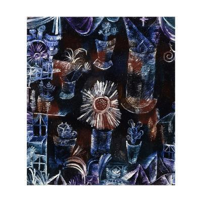 Still-Life with Thistle-Paul Klee-Giclee Print