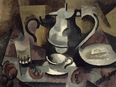 Still Life with Three Handles-Roger de La Fresnaye-Giclee Print