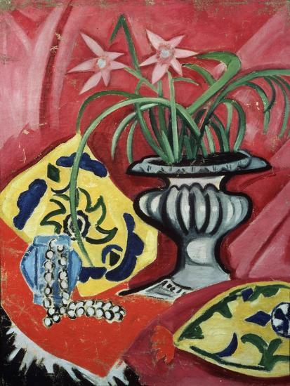 Still life with vase. 1912-Olga Rozanova-Giclee Print