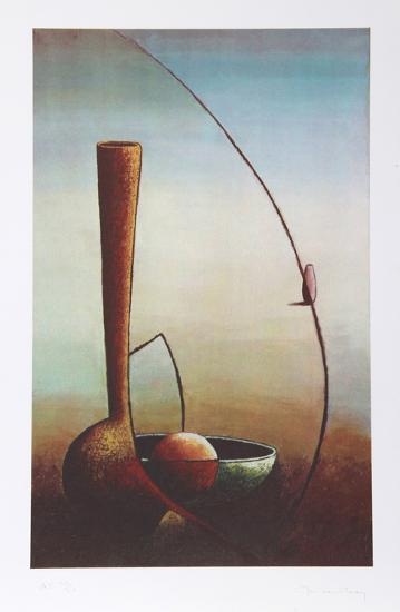 Still Life with Vase-Jan Van Raay-Limited Edition