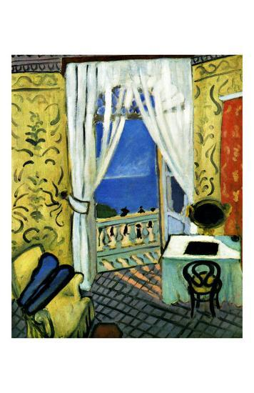 Still Life with Violin Case-Henri Matisse-Giclee Print