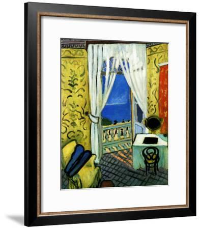 Still Life with Violin Case-Henri Matisse-Framed Giclee Print