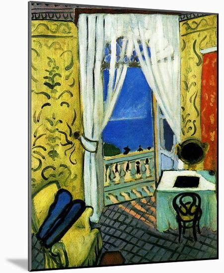 Still Life with Violin Case-Henri Matisse-Mounted Giclee Print