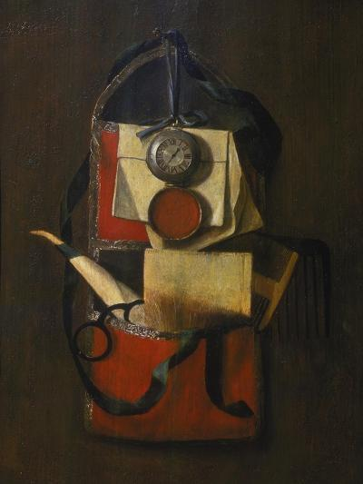 Still Life with Wall Pouch-G Seemanns-Giclee Print