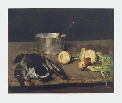 Still Life with Wild Duck-Carl Schuch-Collectable Print
