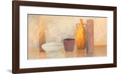 Still Life with Yellow Bottle-Heinz Hock-Framed Art Print