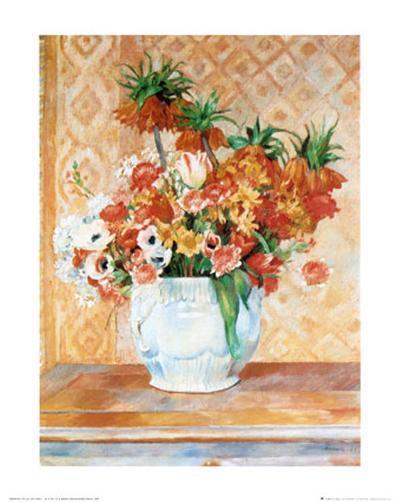 Still Life-Pierre-Auguste Renoir-Art Print
