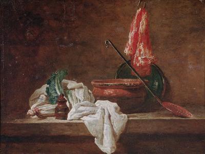 Still Life-Jean-Baptiste Simeon Chardin-Giclee Print