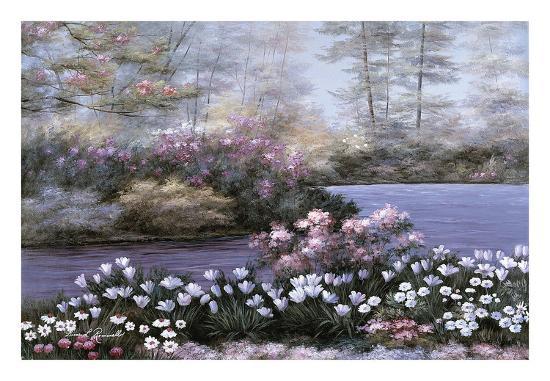 Still Waters-Diane Romanello-Art Print