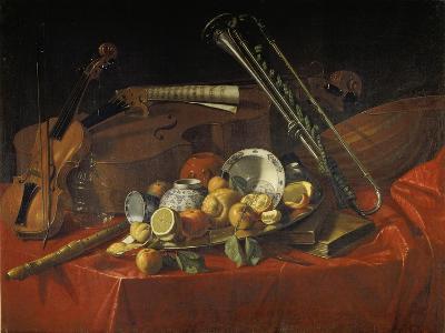 Stillleben Mit Musik-Instrumenten-Cristoforo Munari-Giclee Print