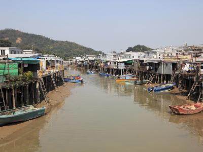 Stilt Houses, Tai O Fishing Village, Lantau Island, Hong Kong, China, Asia-Wendy Connett-Photographic Print