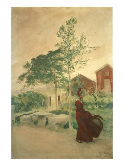 Stina, 1895-Carl Larsson-Giclee Print