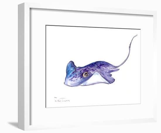 Stingray-Suren Nersisyan-Framed Art Print